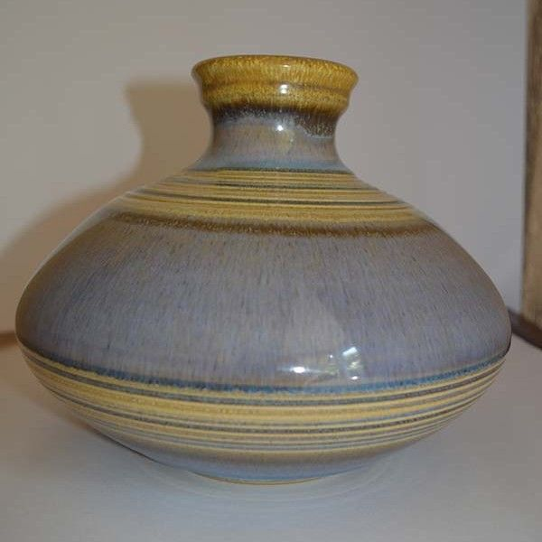Denby Pottery Onion Shaped Vase Studio Pottery Pinterest Pottery
