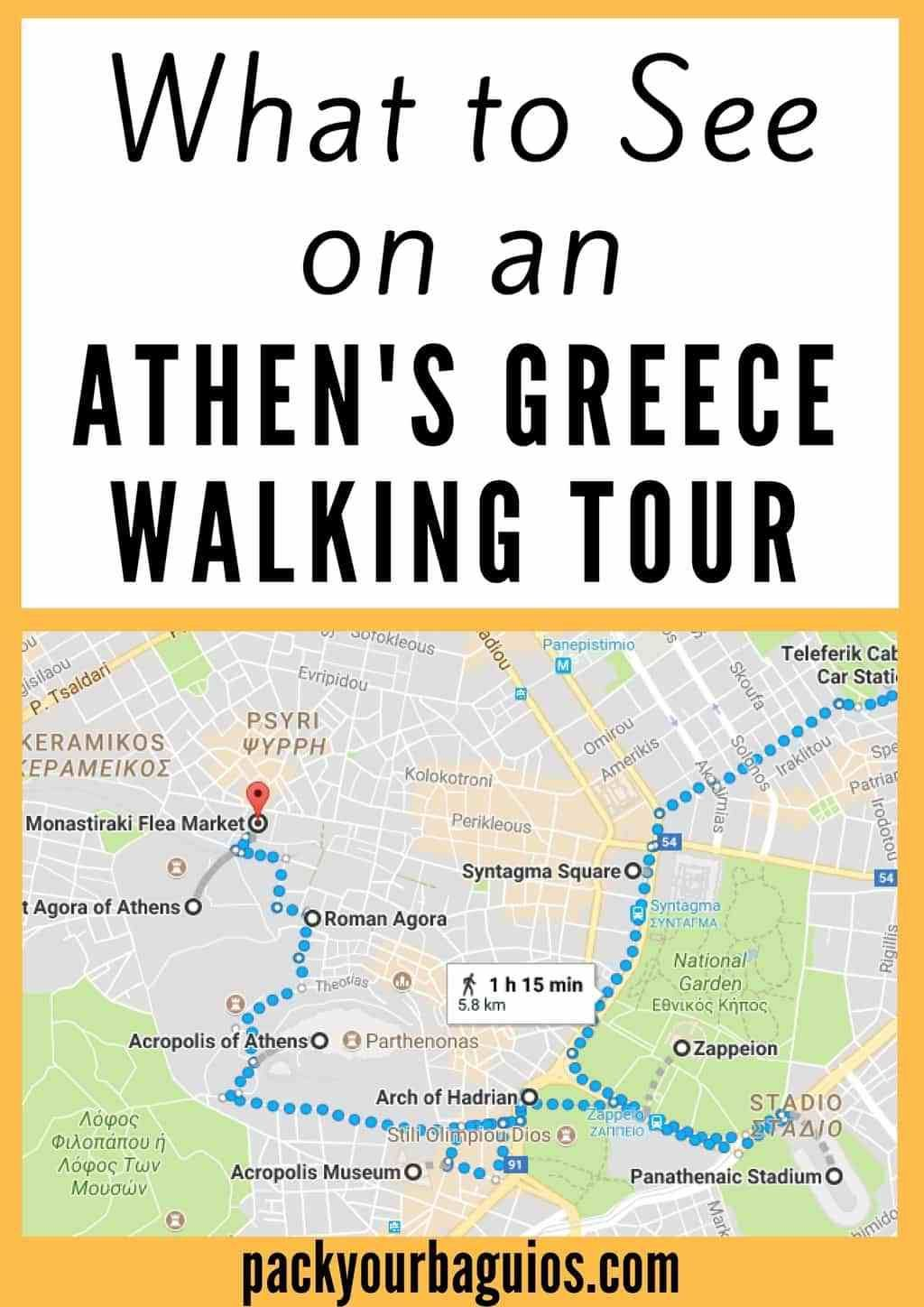What To See On An Athen S Walking Tour Athens Greece Vacation