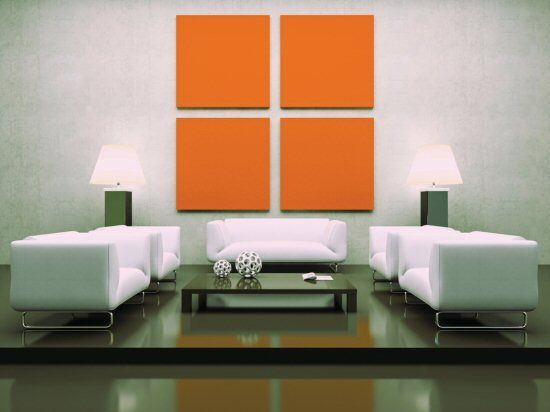 I think this is an example of when symmetry makes a room look too