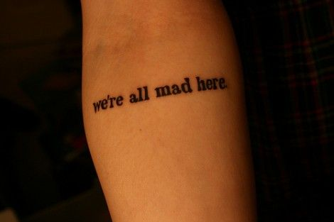 I love the look of a typewriter font tattoo.