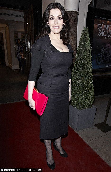 No More Nigella Feasts Lawson Is Confident And Still In Black As She