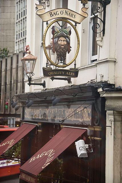 Bag O Nails London Pubs Pub Signs British Pub