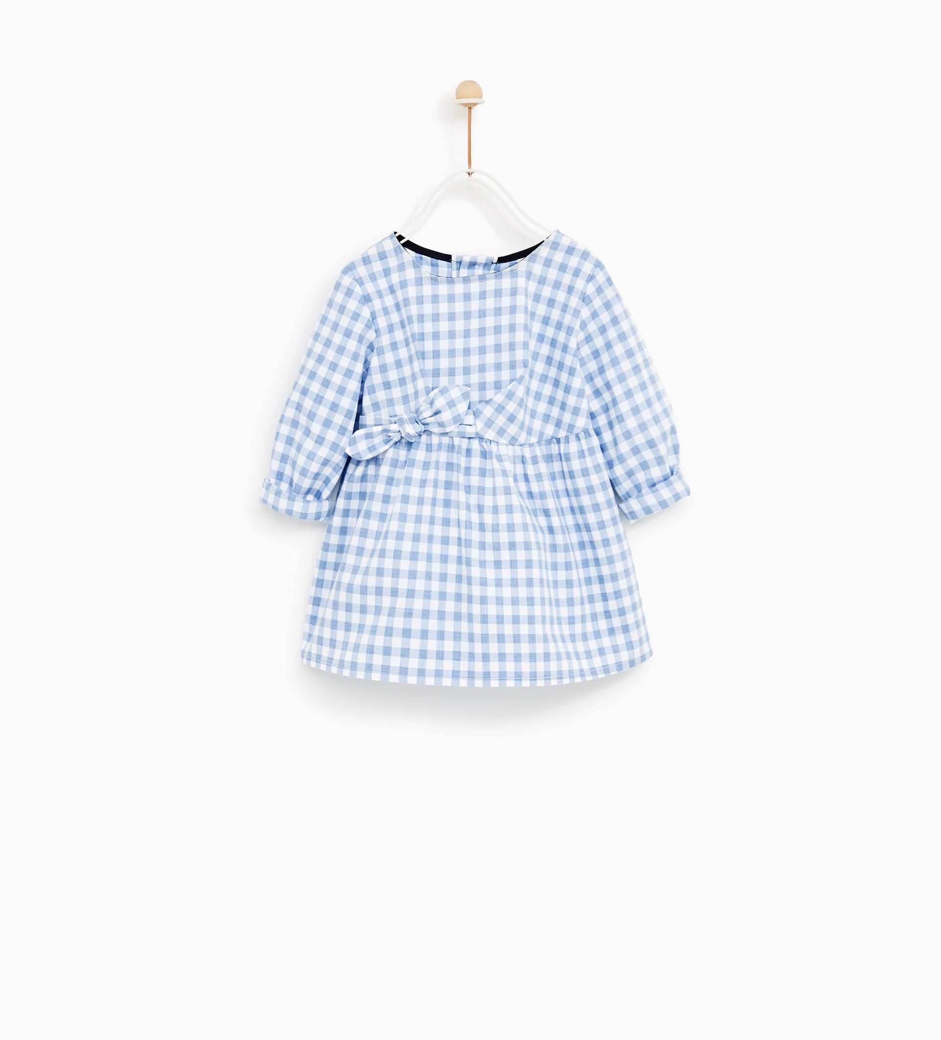 c8a40fb7d3 Image 2 of KNOTTED GINGHAM DRESS from Zara | Scarlett-Rose | Kids ...