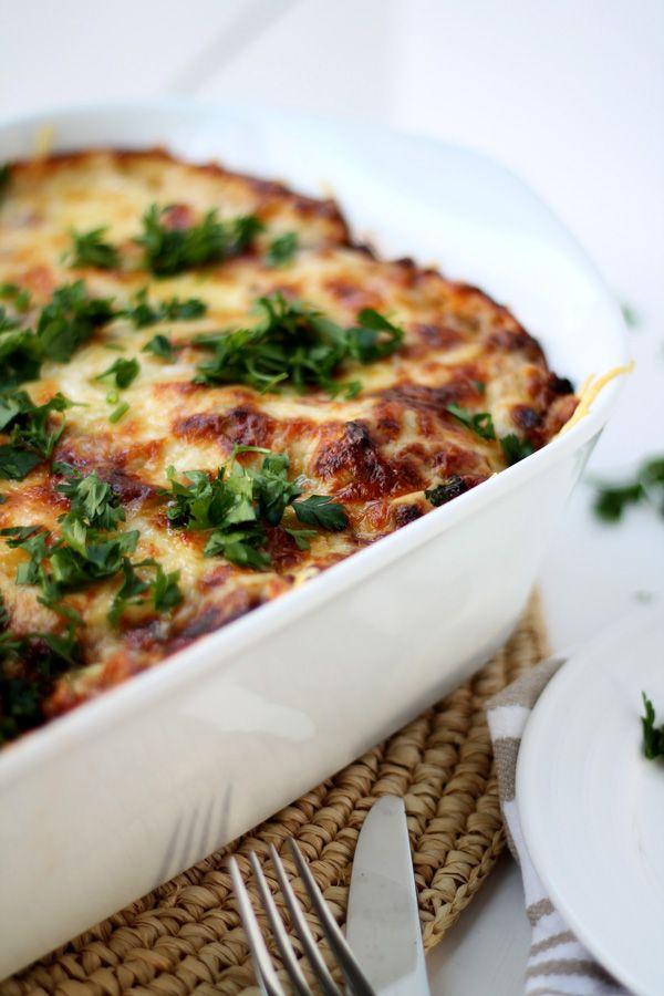 beef mushroom and kale lasagna  recipe  stuffed