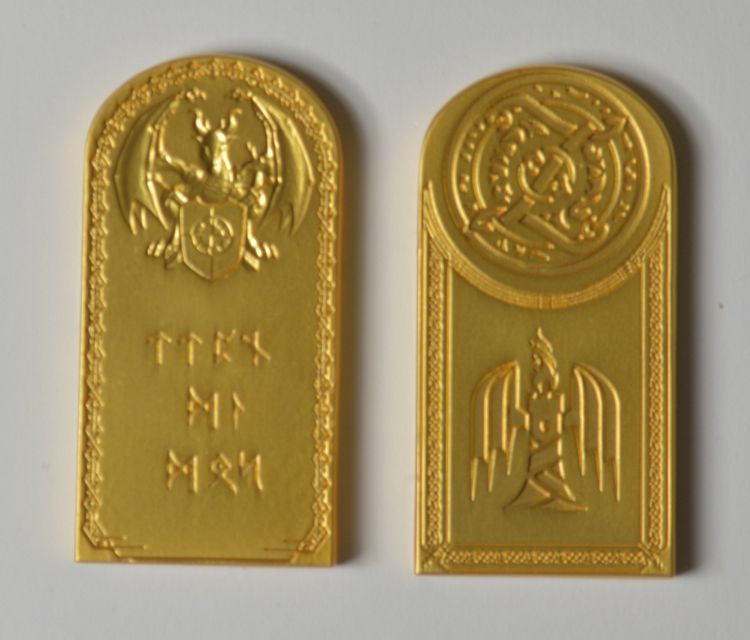 Small Gold Fire Bar Currency Design Gold Coins Coins