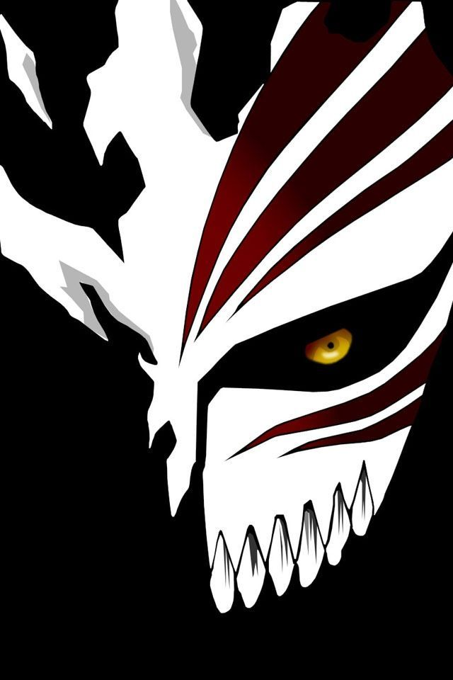 Bleach Ichigo Hollow Mask Artwork x Wallpaper | ichigo | Pinterest