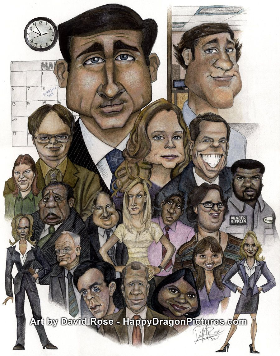 The Office By Happydragonpicturesdeviantart On DeviantART