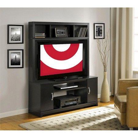 Home Entertainment Center Black 48 Quot Ameriwood Target
