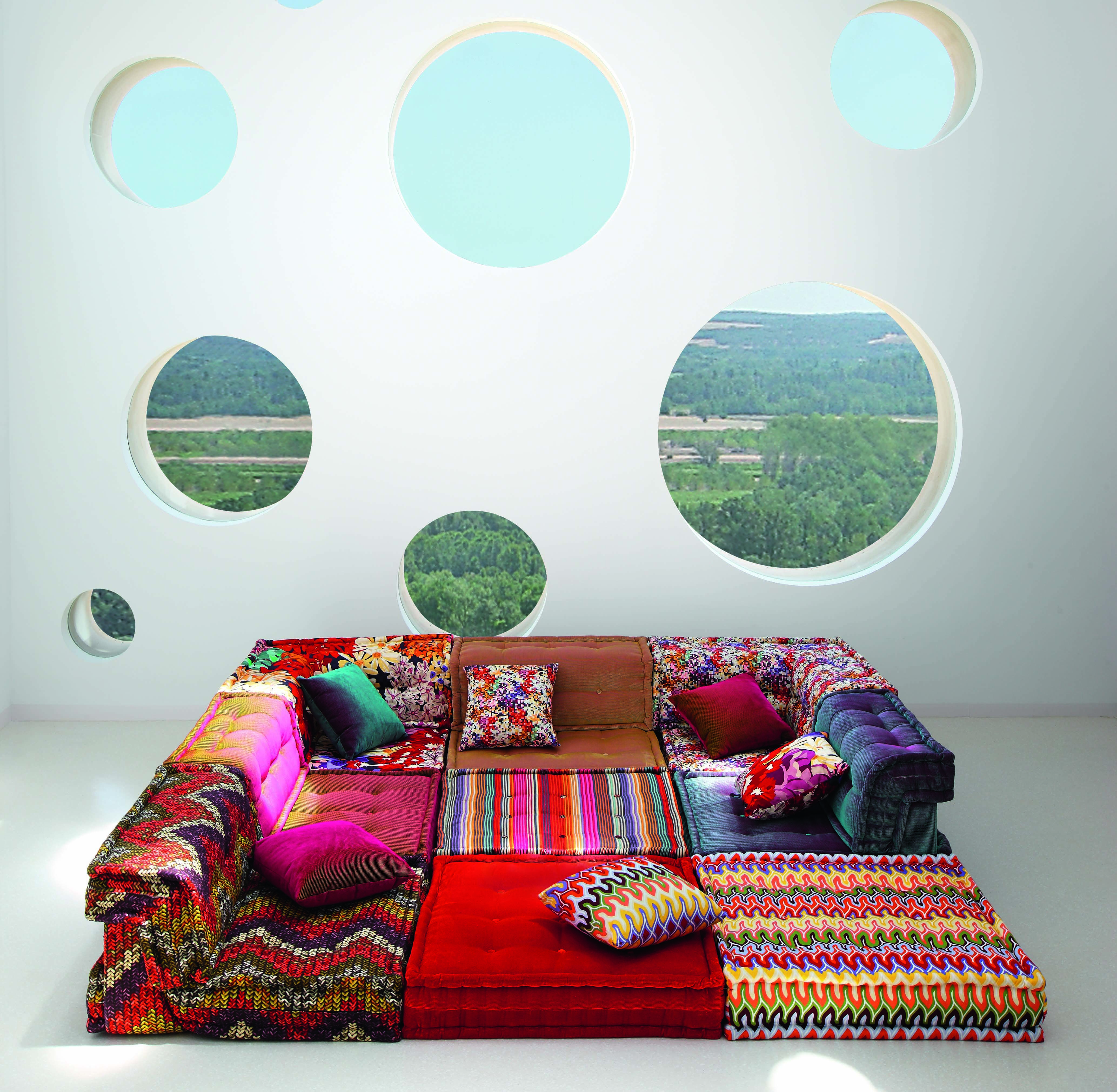 Missoni Home Armchair Gravita: OMG I NEED THIS SOFA/BED IN EVERY WAY ONE COULD NEED A
