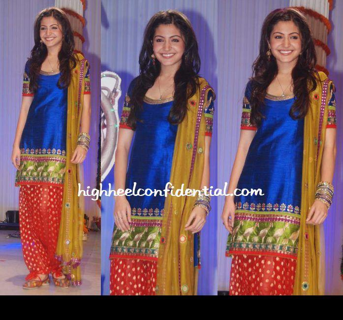 anushka sharma band baja barat blue salwar suit | Sangheet ...
