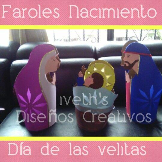 Faroles Nacimiento Para el Día de las Velitas $ 10.000= Cali/Colombia