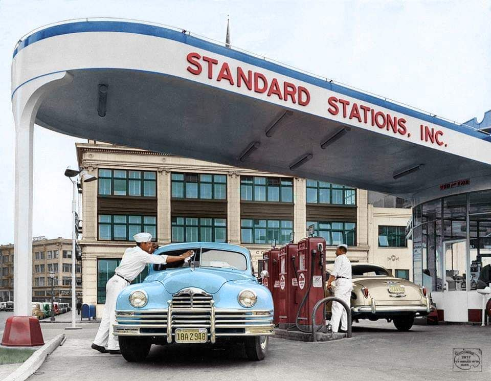 1947 standard gas stations inc los angeles california