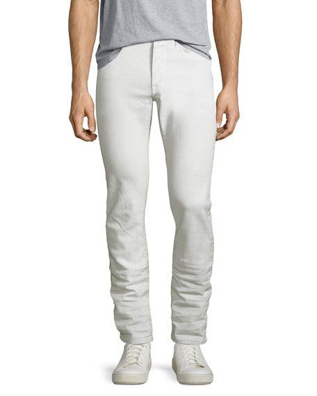 f84f179a1b9 JOHN VARVATOS STAR USA WIGHT COATED SKINNY JEANS