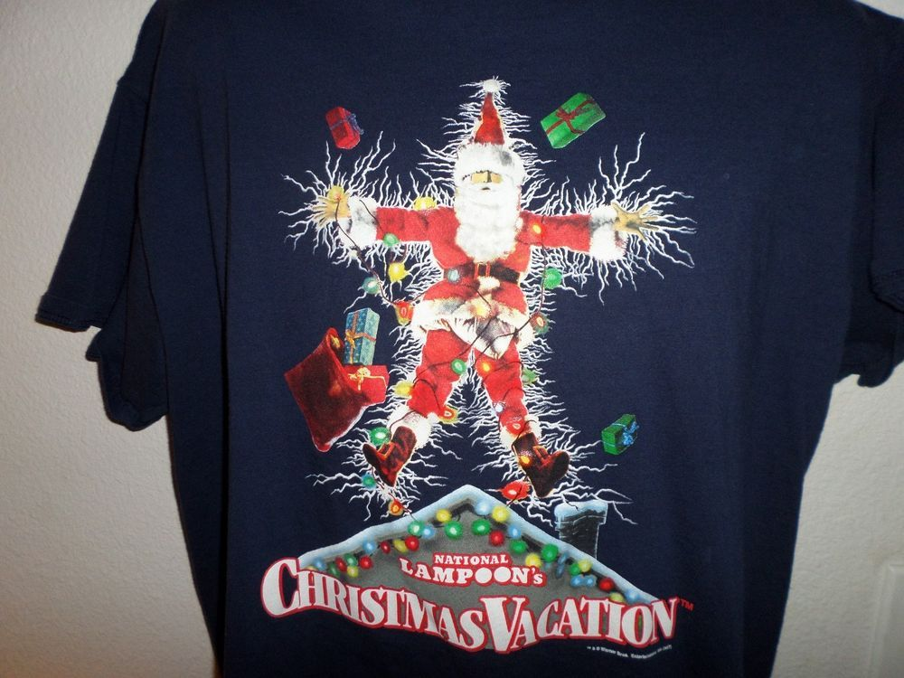 National Lampoons Christmas Vacation Shirt Xl Chevy Chase