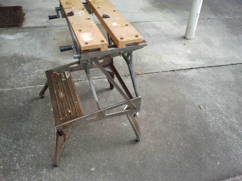 Incredible Black Decker Workmate Model J6910 Tool Storage Benches Ibusinesslaw Wood Chair Design Ideas Ibusinesslaworg