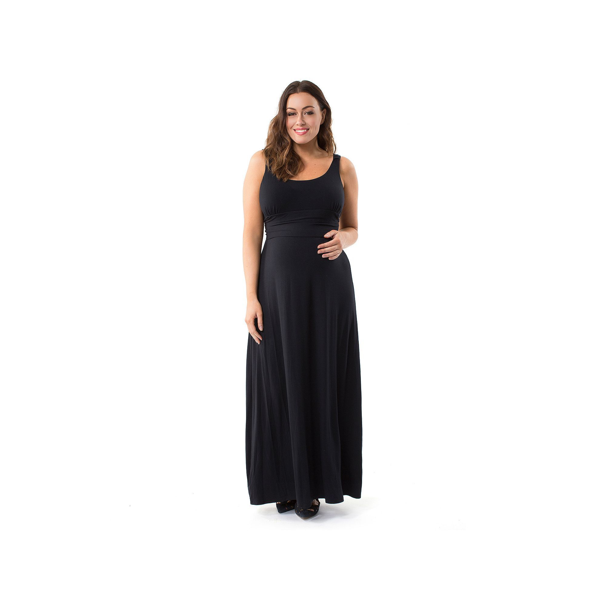 a75eaeed60f64 Plus Size Maternity Pip   Vine by Rosie Pope Maxi Dress