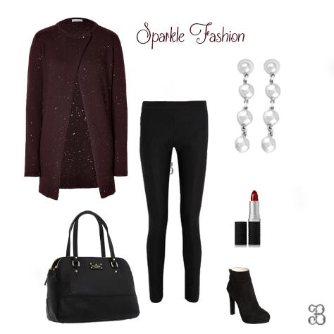 Los suéteres con brillos están súper de moda este inicio de año 2014. Complementa con estos aretes de plata. Pin it! si te gusta. #silver #moda #2014 #plata #fashion