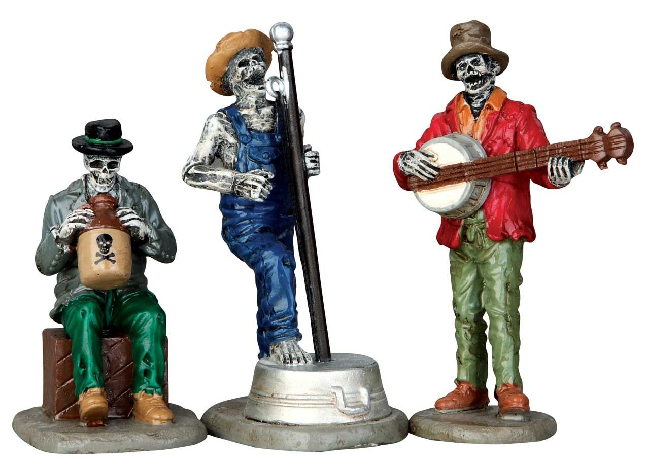 Lemax Jeeperscreeper\'s Jugband Set Of 3 SKU# 62421. Released in 2016 ...