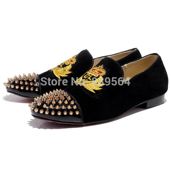 894cc1a8c9e9 louboutin loafers women red bottom heels