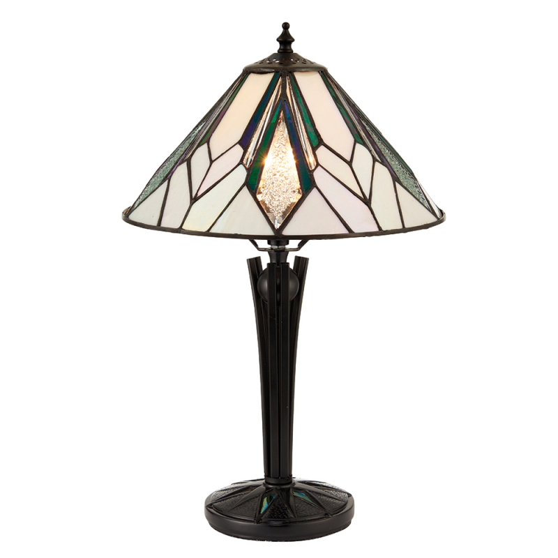 Astoria Small Tiffany Style Table Lamp   Interiors 1900 70365   Netlighting  Ltd