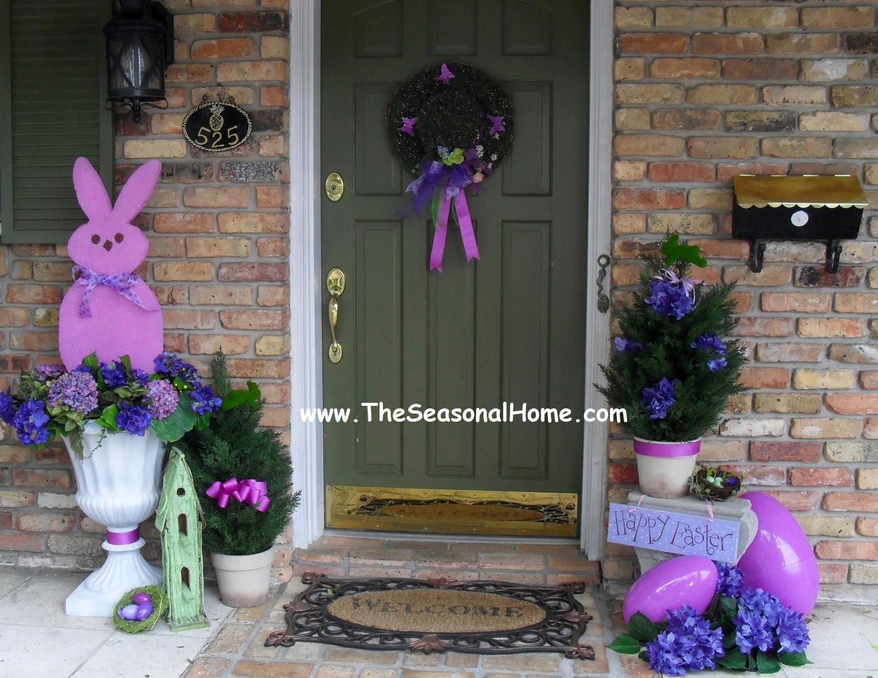 Guest Post- {Make Large Peep Topiaries} from The Seasonal Home ...