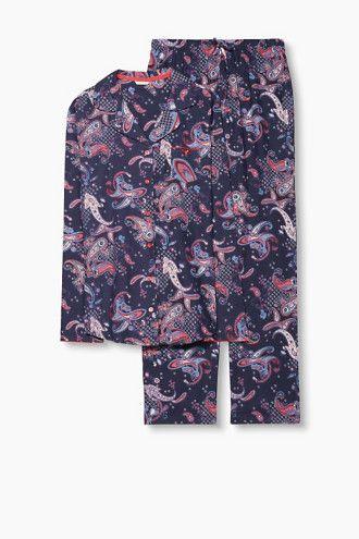 Esprit / Flanellen pyjama van 100% katoen - Pyjamas night dresses ...