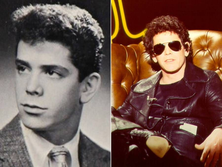 Rockstars during their Younger Days – Lou Reed