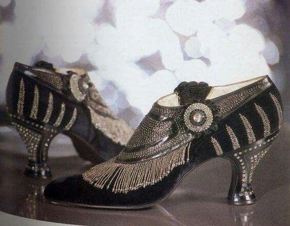 Vintage Flapper Shoes