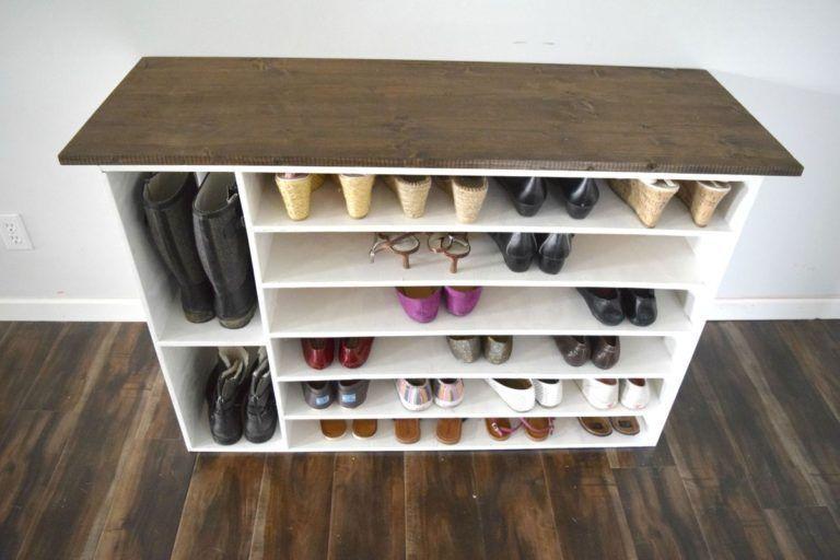 Stylish Diy Shoe Rack Perfect For Any Room Diy Perfect Rack Room Shoe Styli Diy Perfect Rack Room In 2020 Wooden Shoe Racks Diy Shoe Rack Modern Shoe Rack