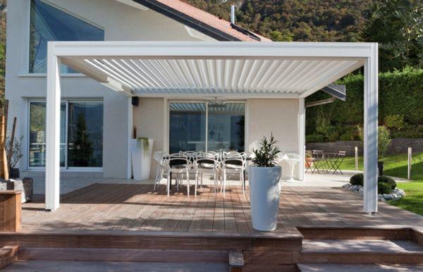 La pergola bioclimatique   décoration et fonctionnalité pour l ...