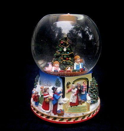 Antique Christmas Snow Globe