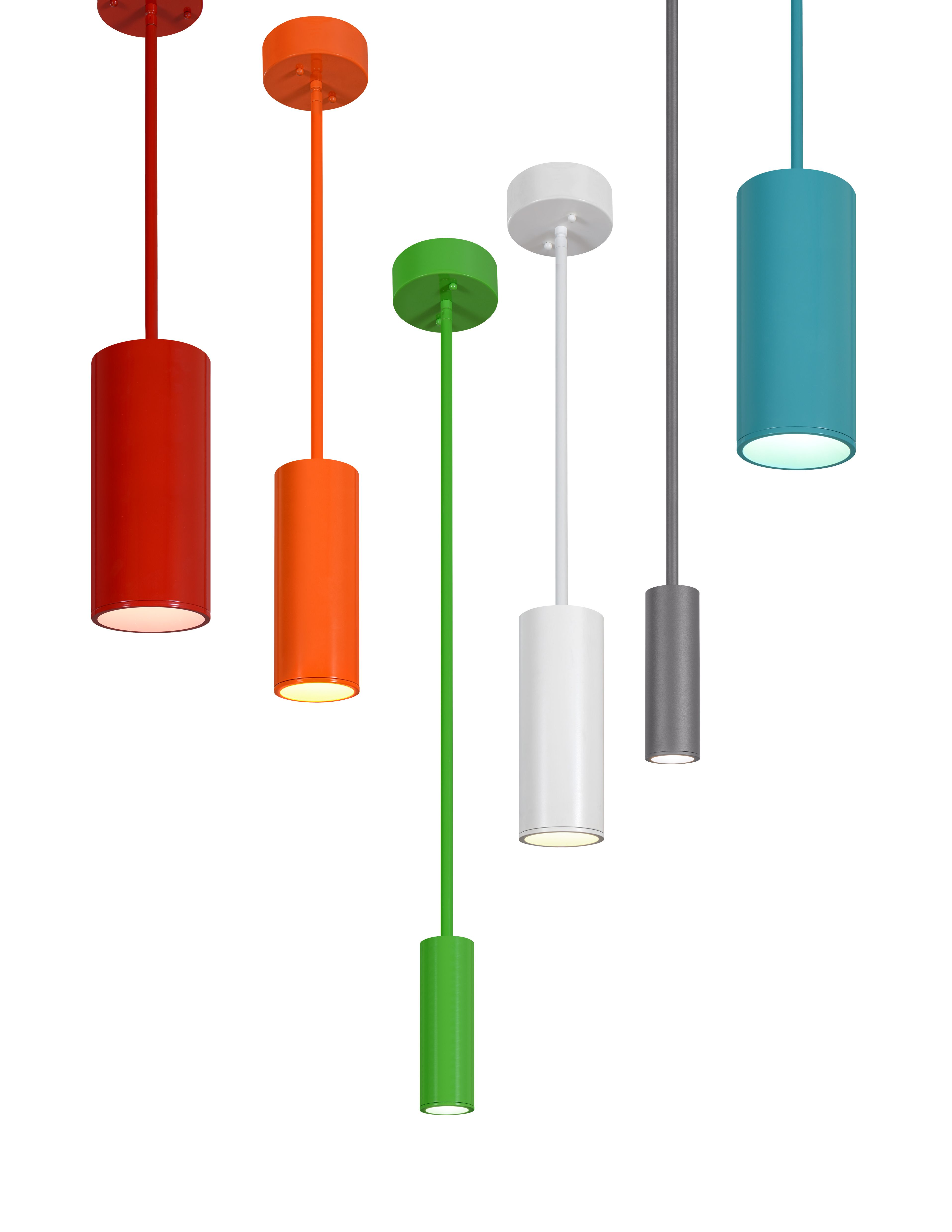 Colorful LED Cylinders By Creative Systems Lighting