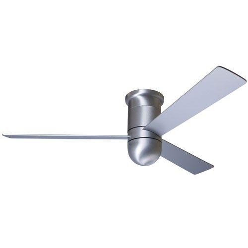 Cirrus Hugger Ceiling Fan Brushed Aluminum 36 Inch With No Light