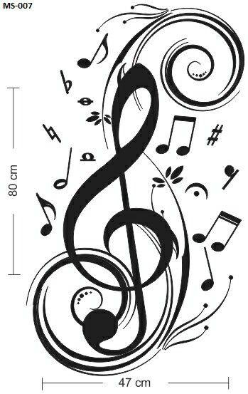 Anhuib 55 pezzi adesivi da parete musicali,musicale note adesivi murali,stickers murali nota musicale per stanza della musicale,rimovibili vinile nero. Pin Di Elizabeth Diaz Su Musica Tatuaggi Musica Note Musicali Arte Musicale