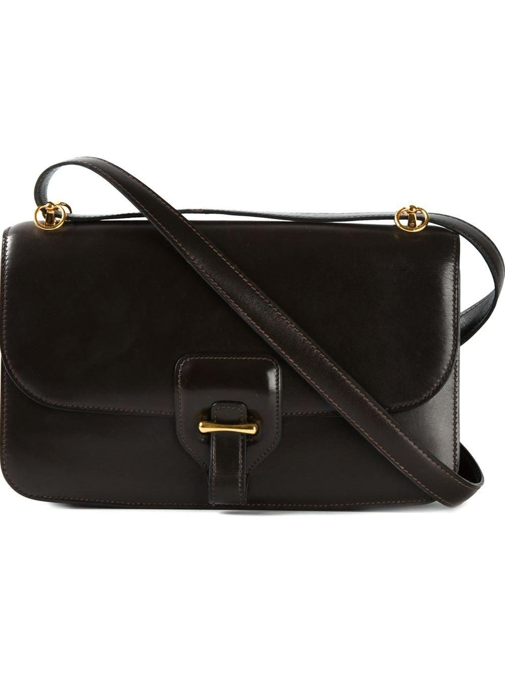Hermès Vintage Classic Shoulder Bag - Dressing Factory - Farfetch.com