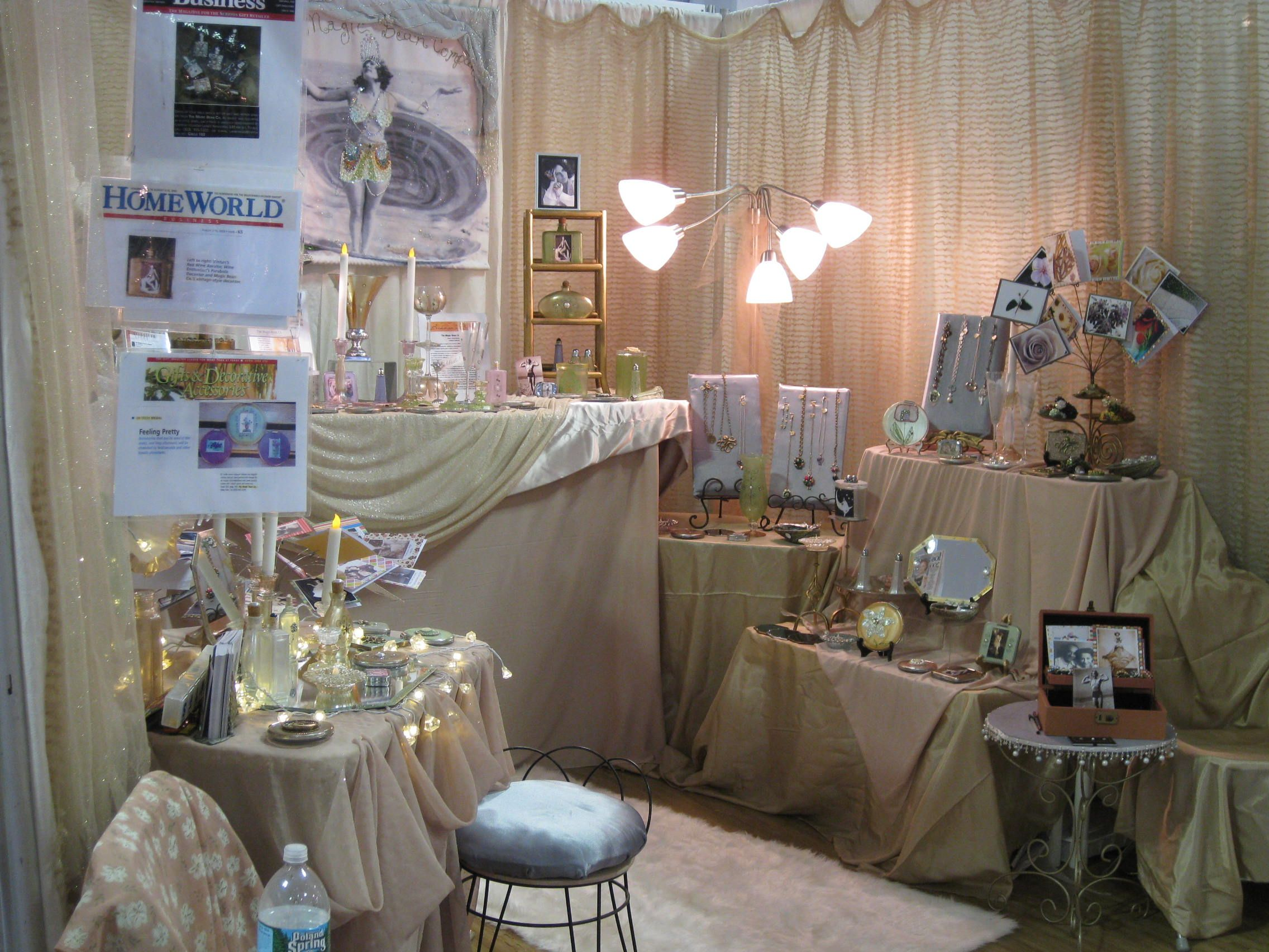 My booth at the NY Int'l Gift Fair