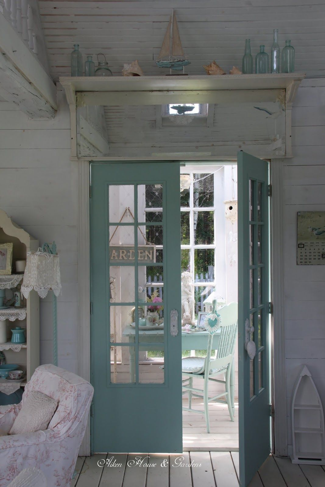 Pin von Iva Conley auf Shabby, cottage 2 English, French, country ...