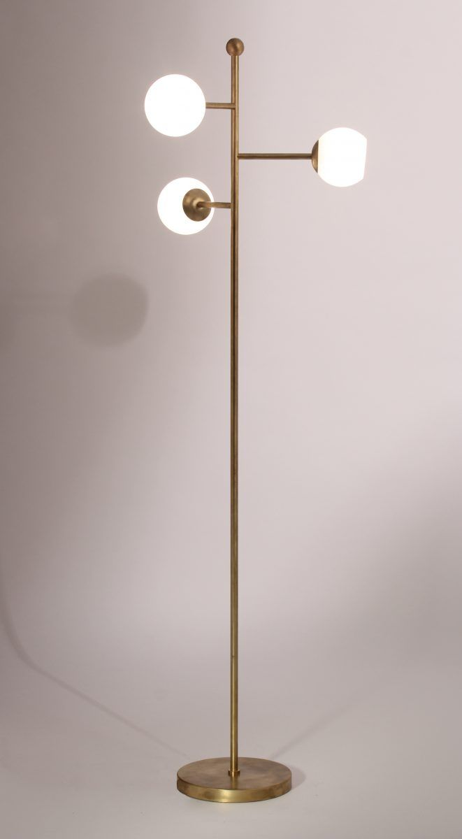 Orbit Floor Lamp | MFL47 | Floor lamps | Porta Romana | Naples ...