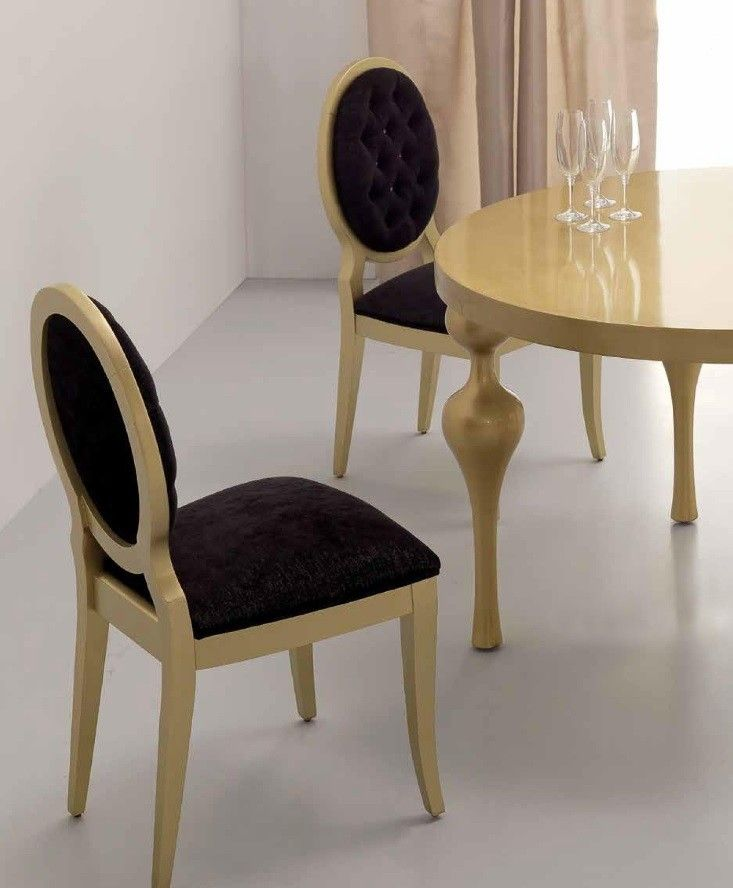 Silla de comedor Clara capitoné | Torno | Dining chairs ...