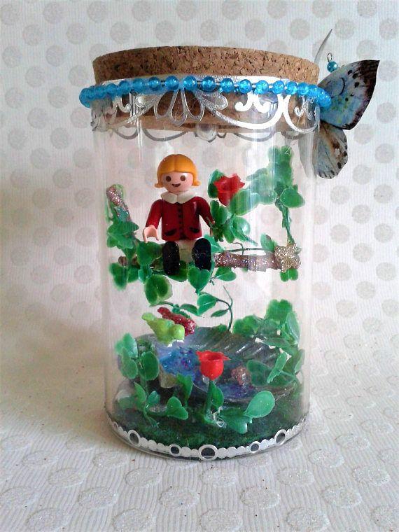 Lampe Led Playmobil globe jardin féerique à poser sur une ...