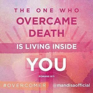 He is alive and He lives in me