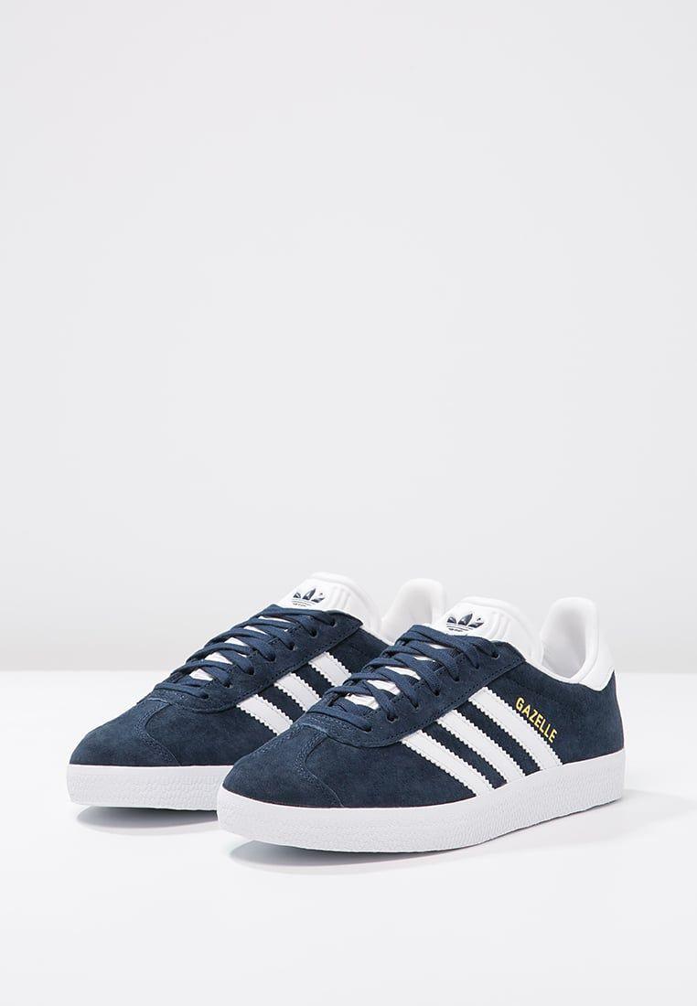 GAZELLE Sneaker low collegiate navywhitegold metallic