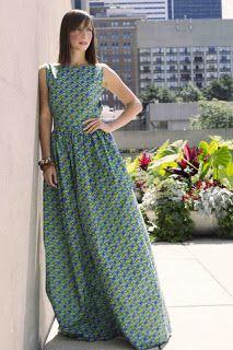 KaKKi: African Prints Maxi dresses and skirts