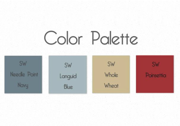 Seaside Paint Colors And Here Is The Design Board That We Are Working From