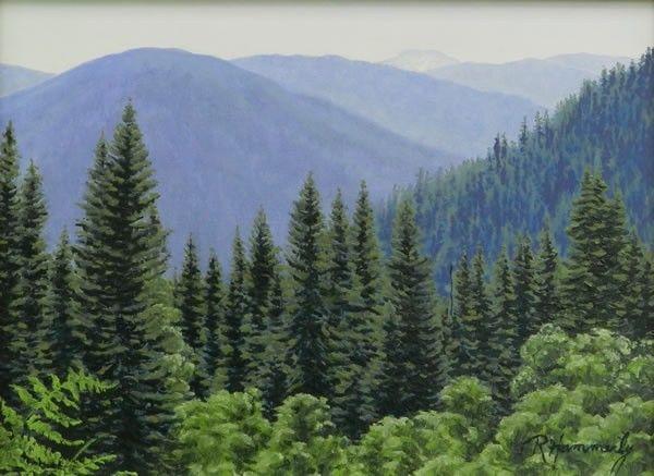 Cascade View by Ramona Hammerly