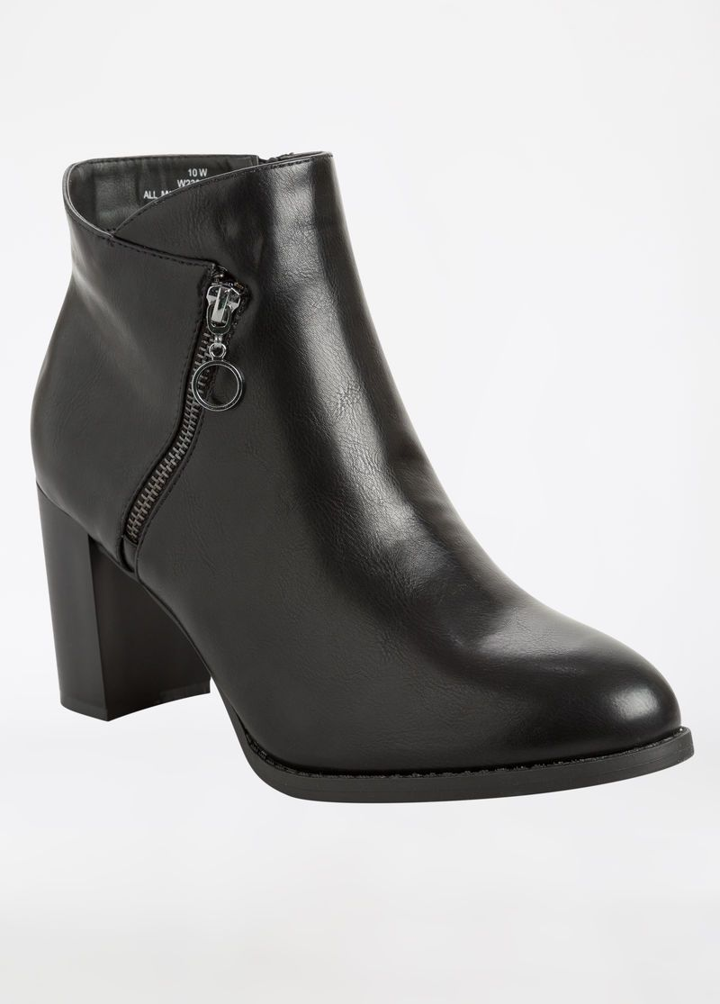 cfa18960dacd8 Wide Feet, Heel Boot, Chunky Heels, Cute Shoes, Leather Boots, Fashion