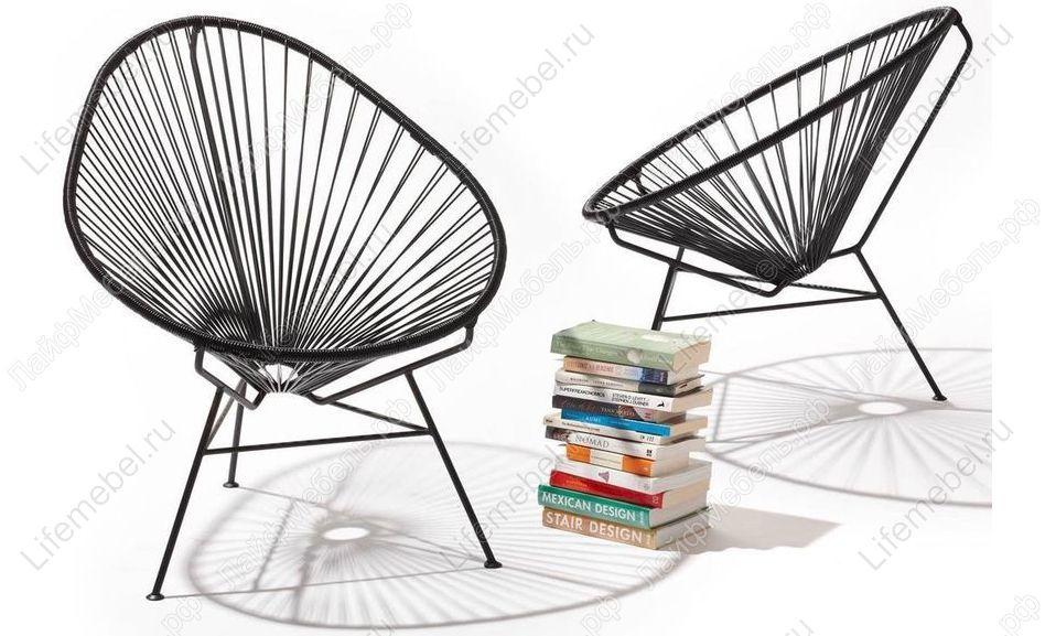 Кресло Acapulco Black купить в интернет-магазине ЛайфМебель