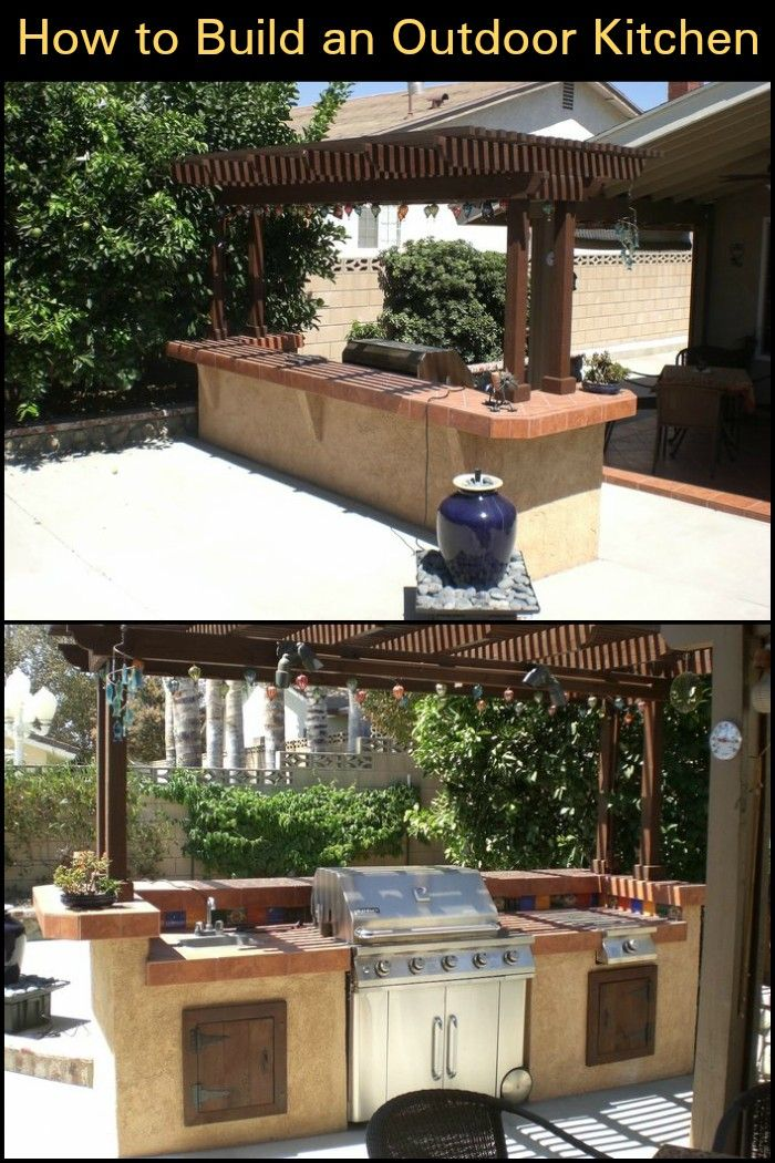 Thinking Of Ways To Enhance Your Backyard Then Build An Outdoor Magnificent Build Your Own Outdoor Kitchen Design Ideas