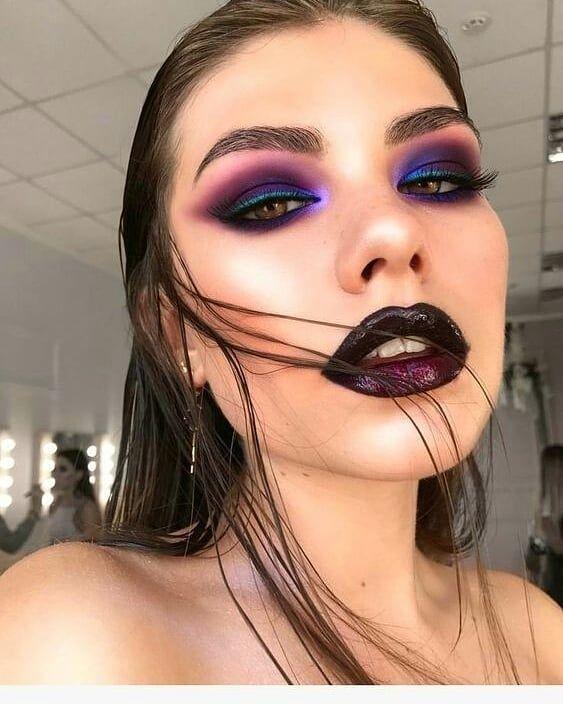 Cool Girl Rock N Roll Look Hermoso Maquillaje Maquillaje Hermoso De Ojos Maquillaje De Ojos Artistico