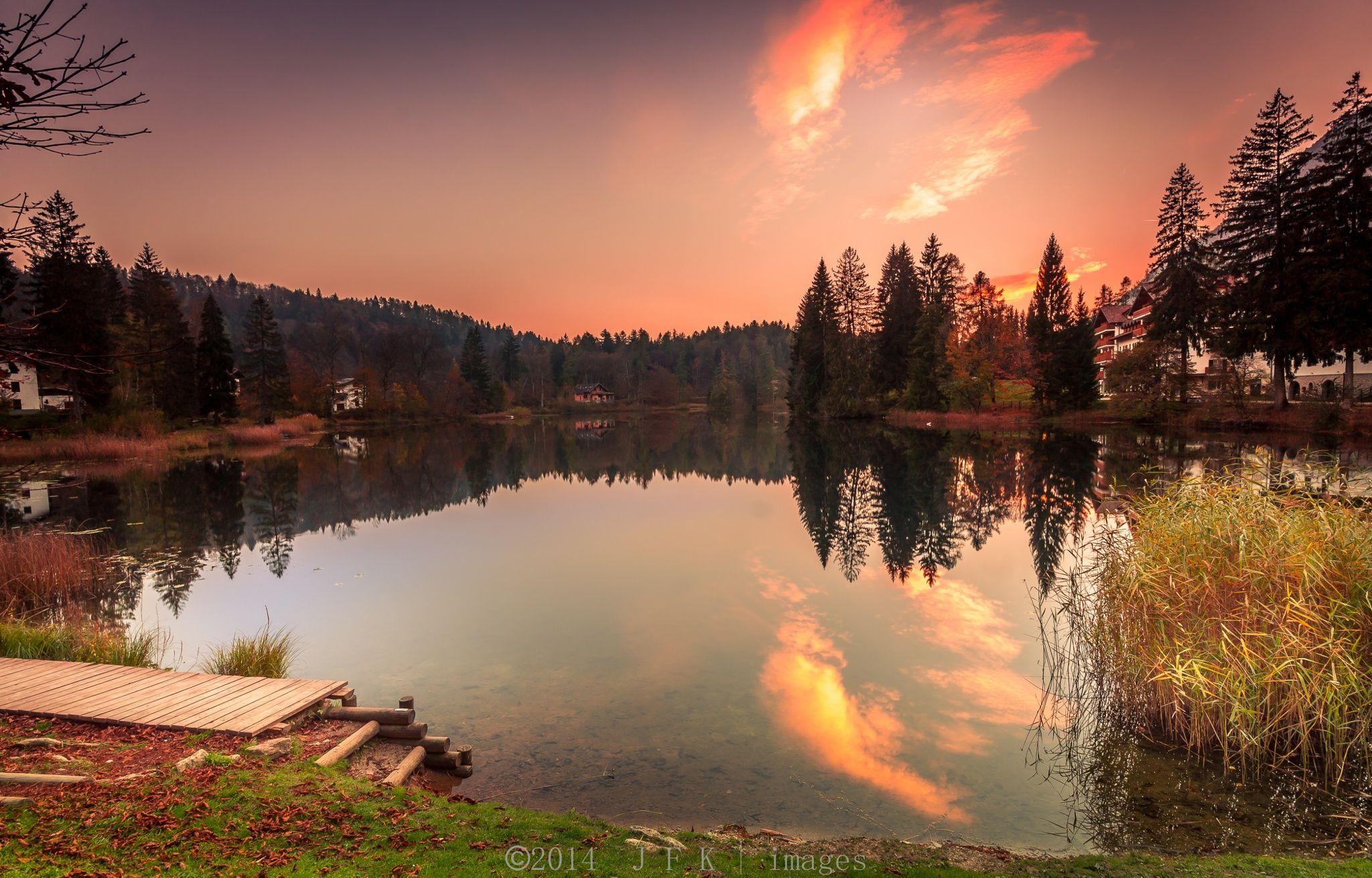 Sunset reflections by Gianfranco Forigo on 500px